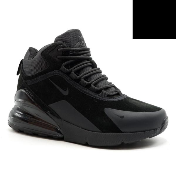 Nike Air Max 270 Черные с мехом