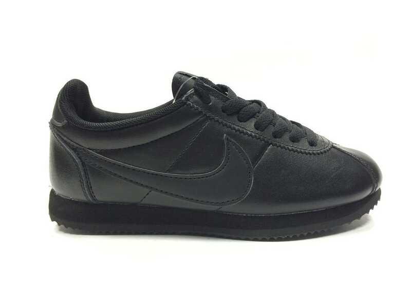 Nike Cortez Черные кожаные