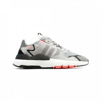 Adidas Nite Jogger Серые с красным