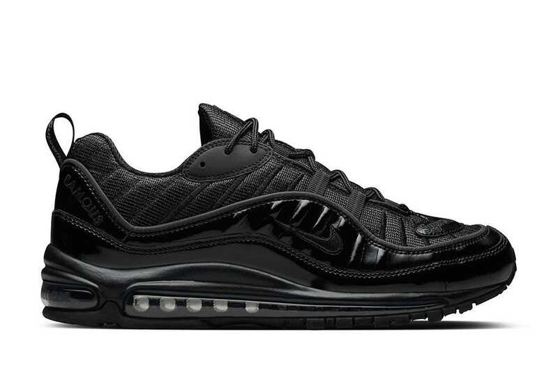 Nike Air Max 98 Supreme Черные