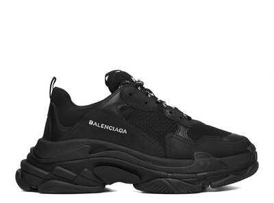 Balenciaga Triple S Черные