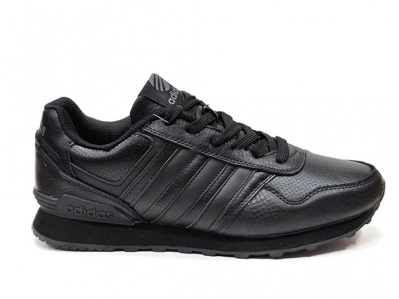 Adidas Neo Черные кожаные