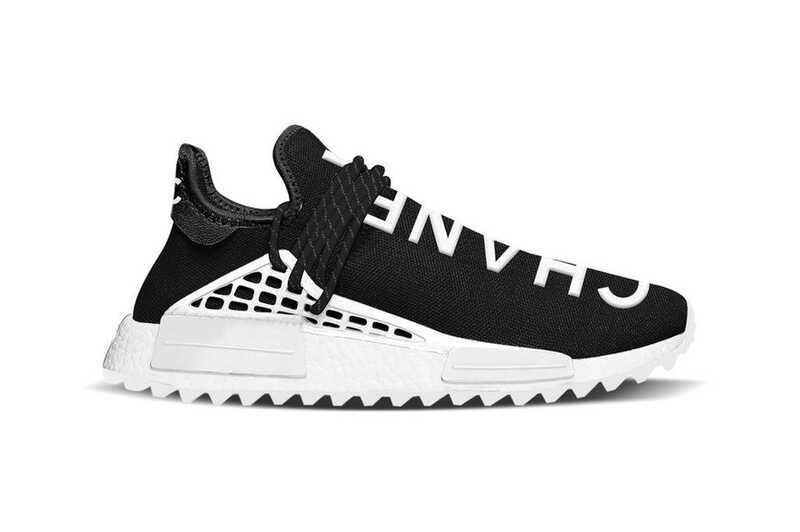 Adidas NMD X Pharrell Williams Human Черные