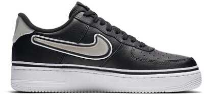 Nike Air Force 1 Low NBA Black/White_mobile