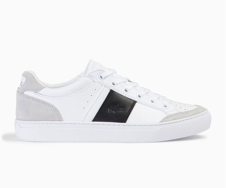 Lacoste Courtline White/Black/Beige