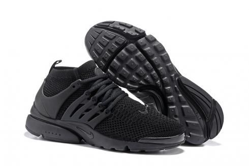 Nike Air Presto Flyknit Ultra Черные