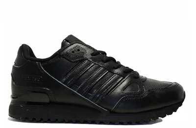 Adidas ZX 750 Черные кожаные