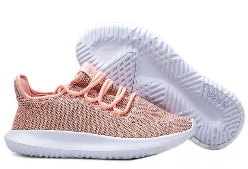 Adidas Tubular Shadow Knit Розовые
