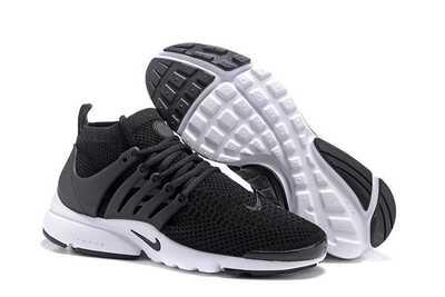 Nike Air Presto Flyknit Ultra Черно-белые