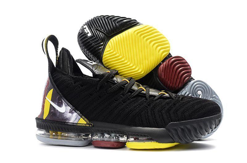 Nike Lebron 16 Желтые