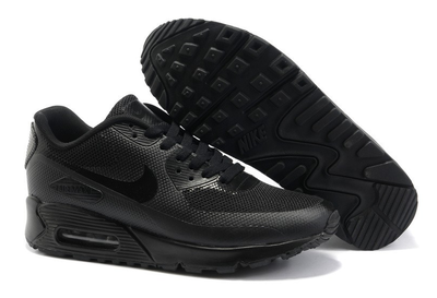 Nike Air Max 90 Hyperfuse Черные_mobile