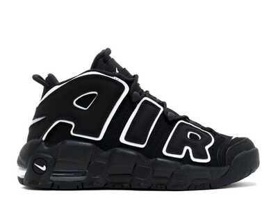 Nike Air More Uptempo Черно-белые