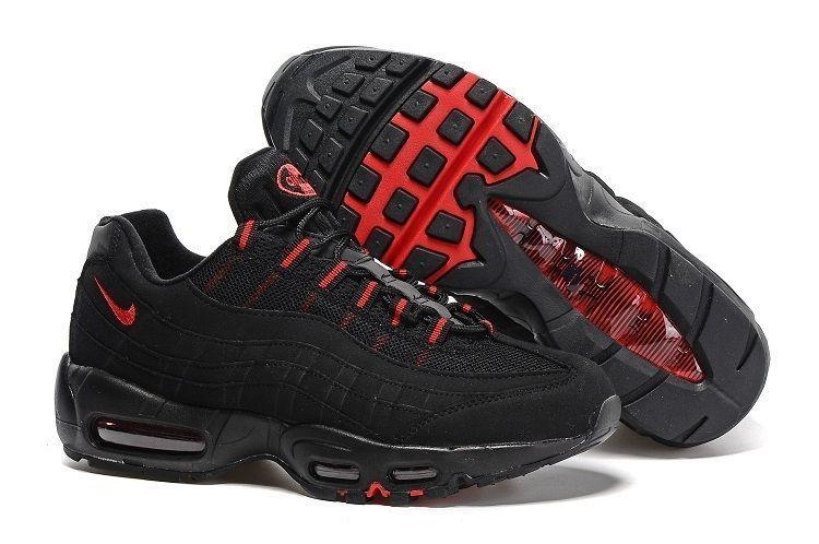 Nike Air Max 95 Черно-красные