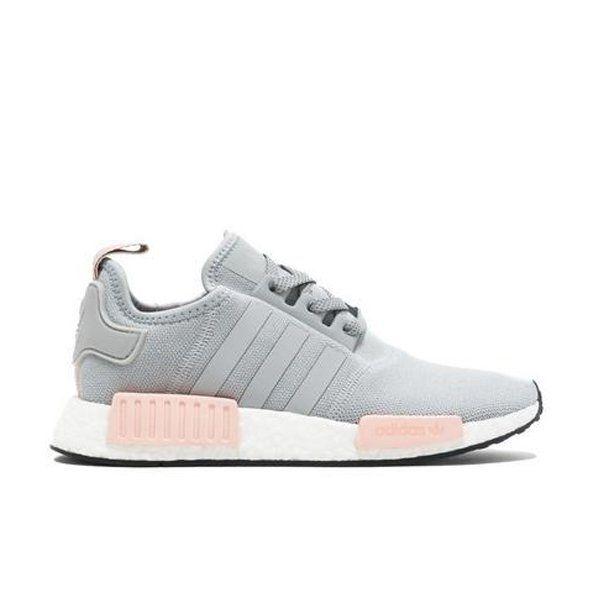 Adidas NMD R1 Серо-розовые