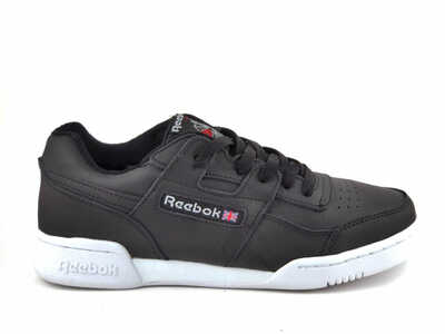 Reebok Classic Workout Plus Черно-белые R19