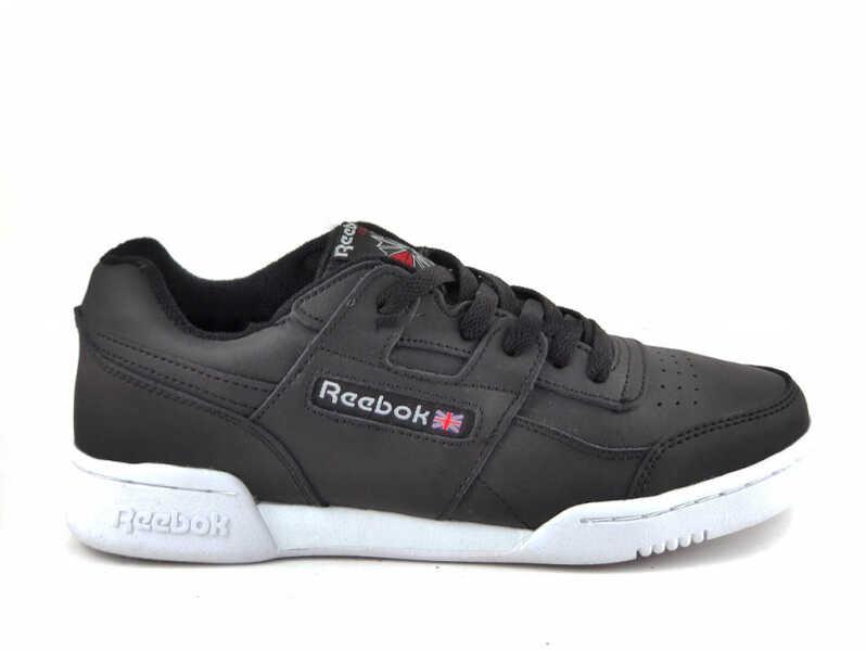 Reebok Classic Workout Plus Черно-белые R19