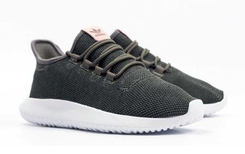 Adidas Tubular Shadow Knit Черно-розовые