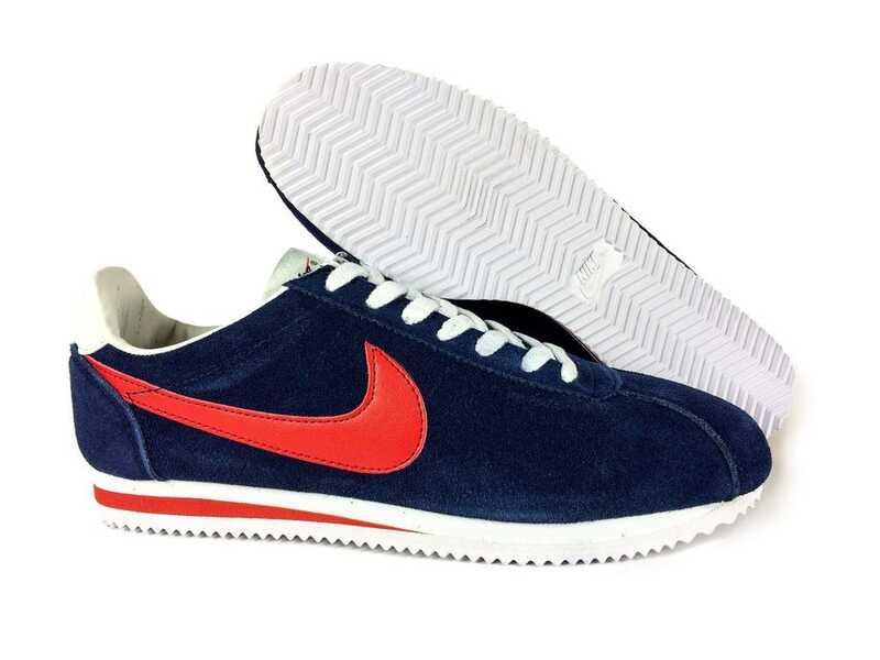 Nike Cortez Синие замшевые