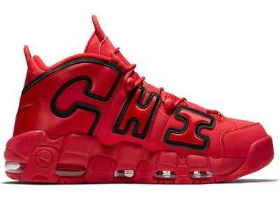 Nike Air More Uptempo Chicago Красные