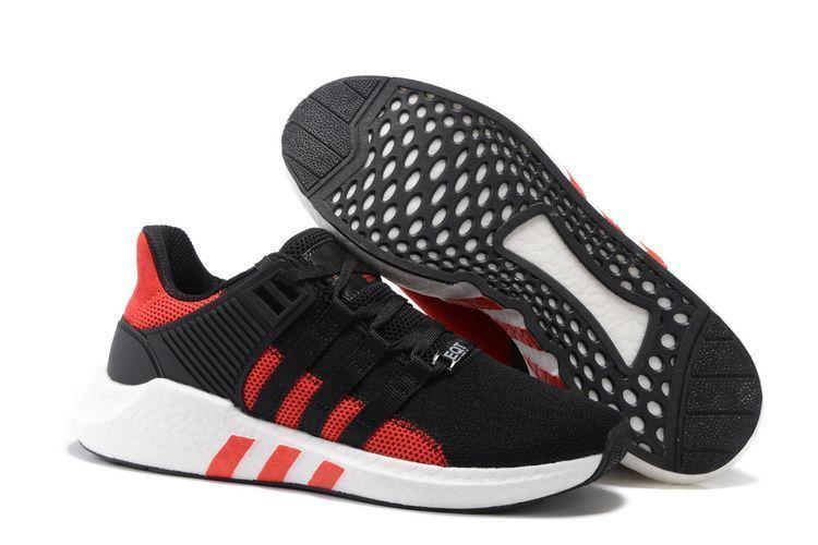 Adidas Equipment 93/17 Черно-красные