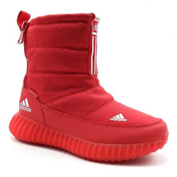 Дутики Adidas Boost Tremx 25 Красные с мехом