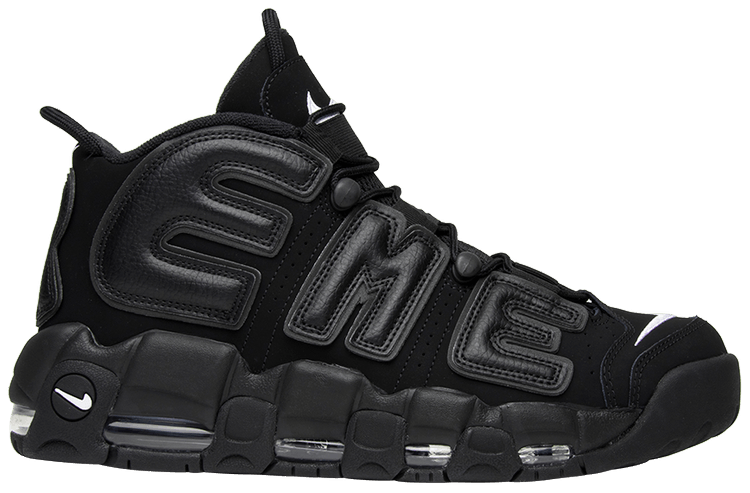 Nike Air More Uptempo Supreme Черные