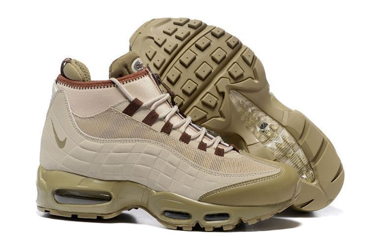 Nike Air Max 95 Sneakerboot Песочные