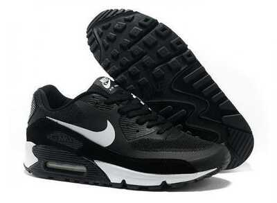 Nike Air Max 90 Hyperfuse Черно-белые_mobile