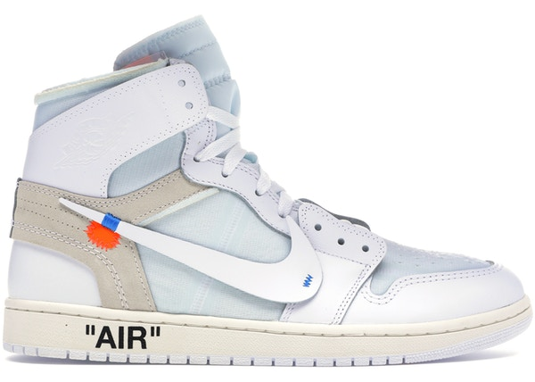 Nike Air Jordan 1 Retro High Off-White Белые