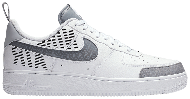 Nike Air Force 1 Low Under Construction White/Grey