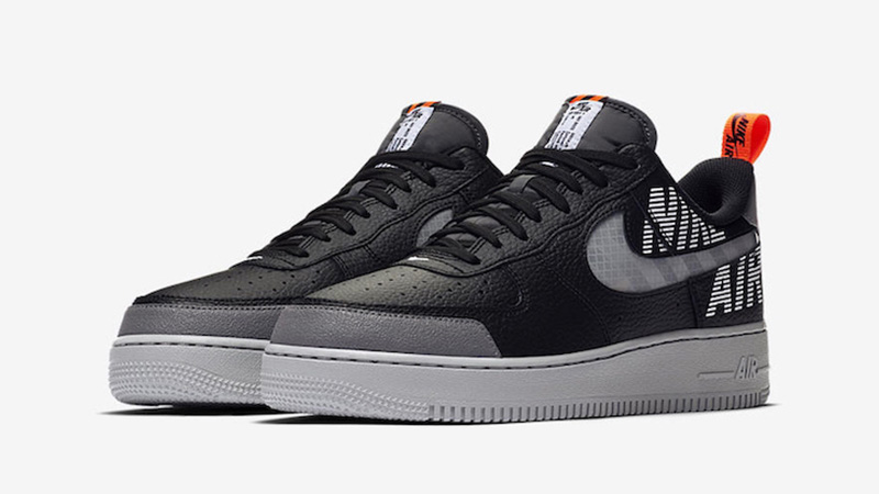 Nike Air Force 1 Low Under Construction Black/White Sole