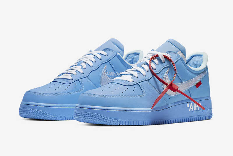 "Nike Air Force 1 x Off-White Low ""MCA Blue"""