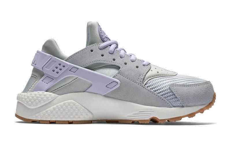 Nike Air Huarache Run Premium TXT  Лиловые