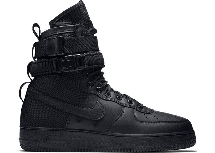 Nike Special Field Air Force 1 Черные