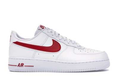 Nike Air Force 1 Low Красно-белые_mobile