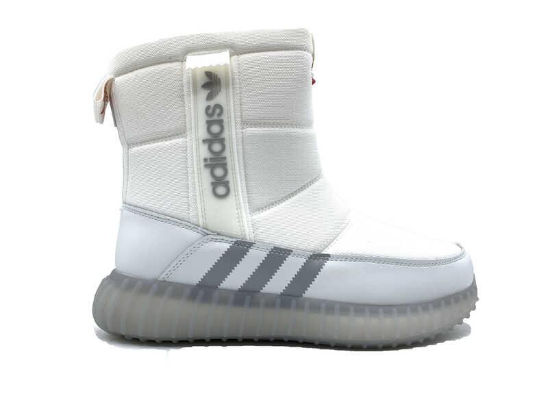 Дутики Adidas All white