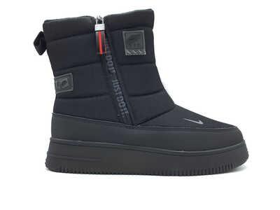 Дутики Nike air force justdoit black