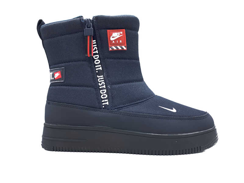 Дутики Nike air force justdoit blue