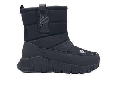 Дутики Adidas lather black