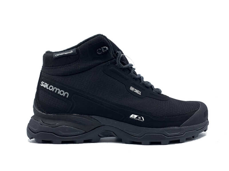Salomon soft shell high Thermo black