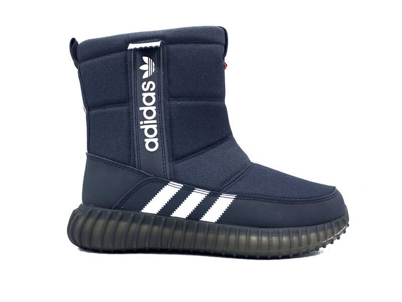 Дутики Adidas All Blue white
