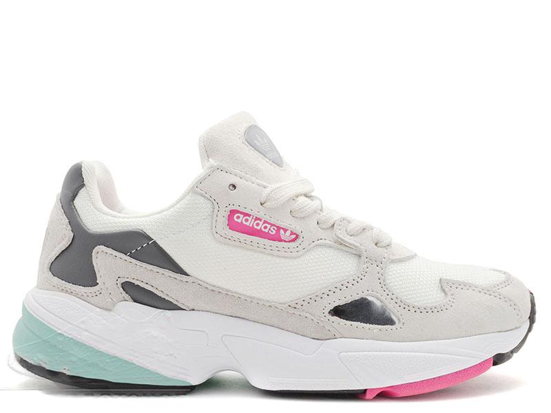 Adidas Falcon White/Pink/Mint