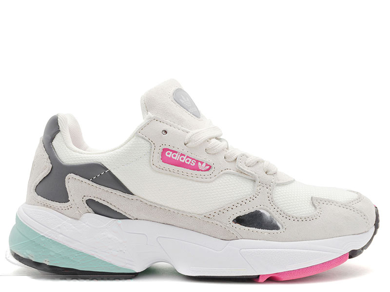 Adidas Falcon White/Pink/Mint