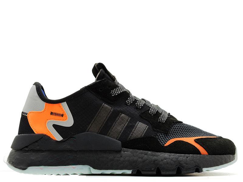Adidas Nite Jogger Черно-оранжевые
