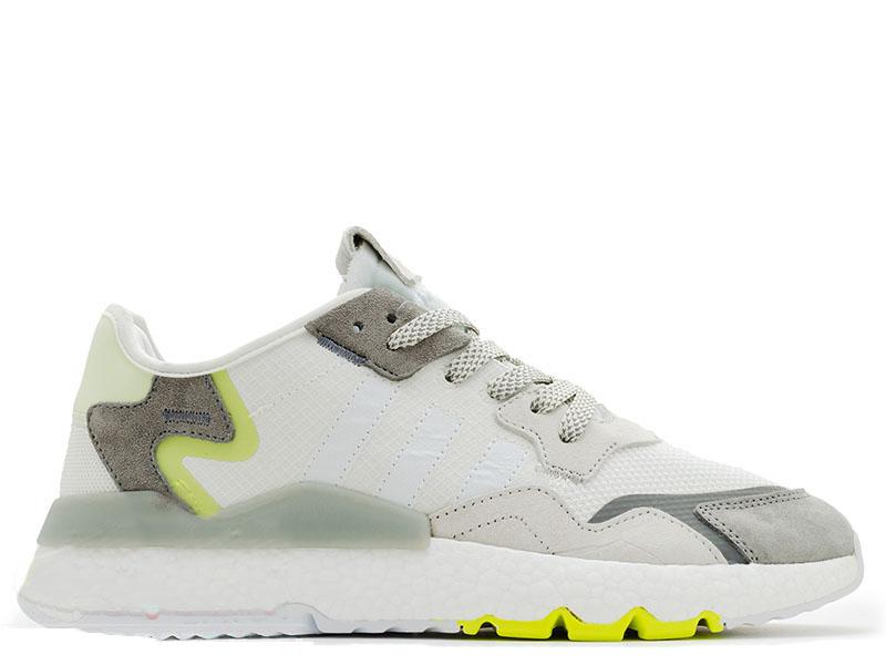 Adidas Nite Jogger Белые V2