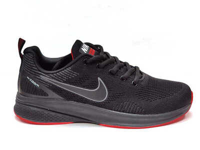 Nike Lunar Черно-красные