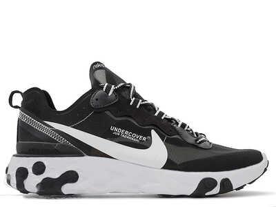Nike Epic React Element 87 x Undercover Черно-белые v2