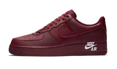 Nike Air Force 1 '07 Low Leather Team Red